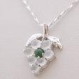 Pendentif grappe en jade