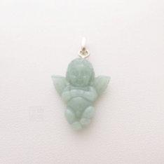 Pendentif ange en jade