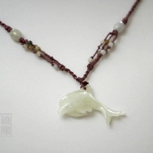 Dauphin en jade