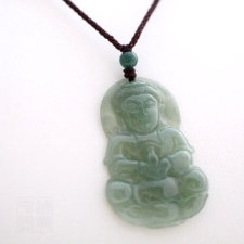 Pendentif guanyin en jade