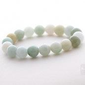 Bracelet en jade vert d'eau