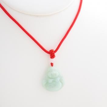 Pendentif jade béni vert d'eau