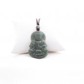 Pendentif déesse en jade