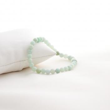 Mini bracelet boule vert d'eau