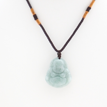 Pendentif Bouddha en jade double face